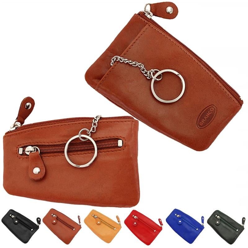 Branco Schlüsseltasche Leder Schlüsseletui Schlüsselmappe Schlüssel Etui 013 neu