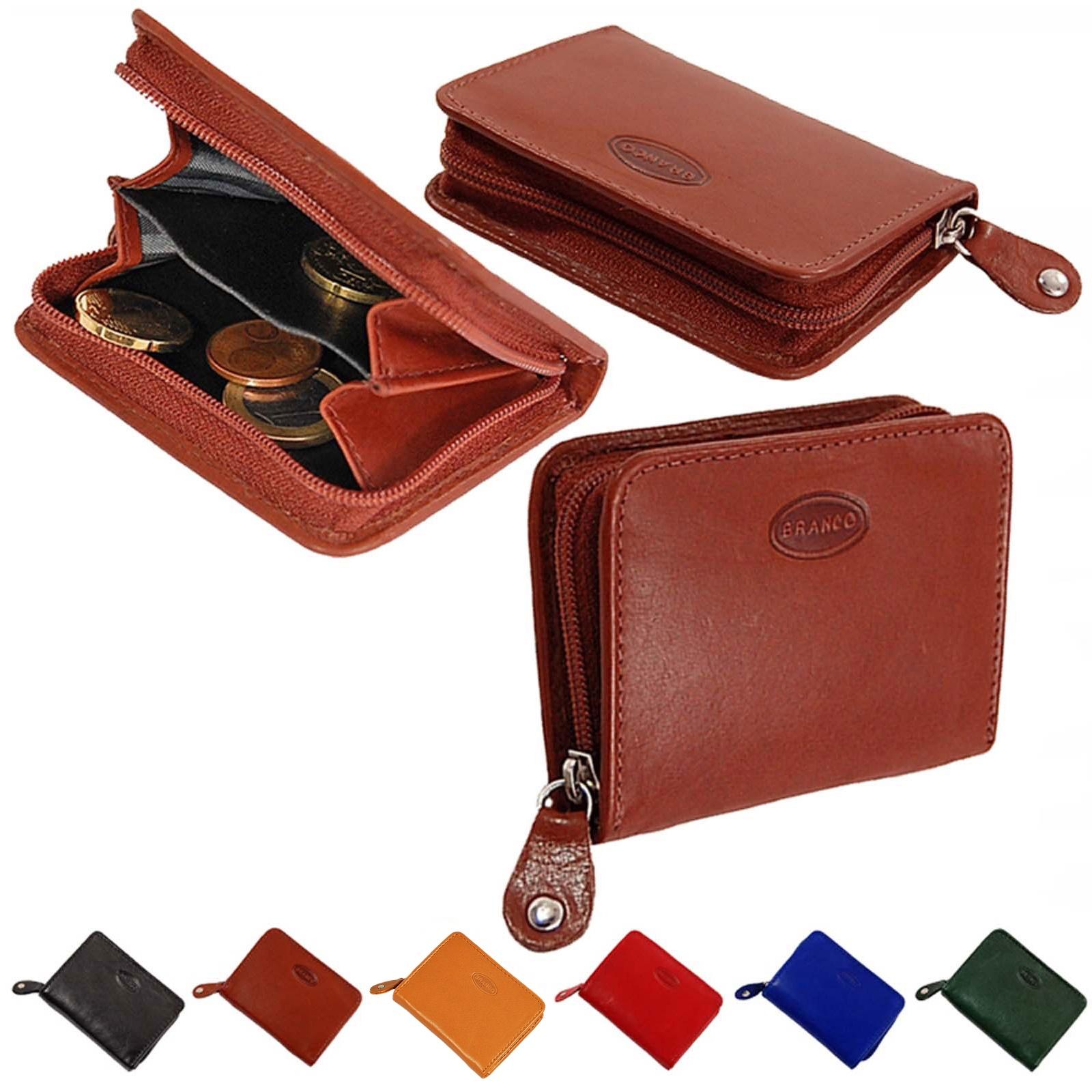 e65e7025c1f56 Mini Leder Reißverschluss Geldbörse Geldbeutel Portemonnaie kleine Börse  Münzbörse 107
