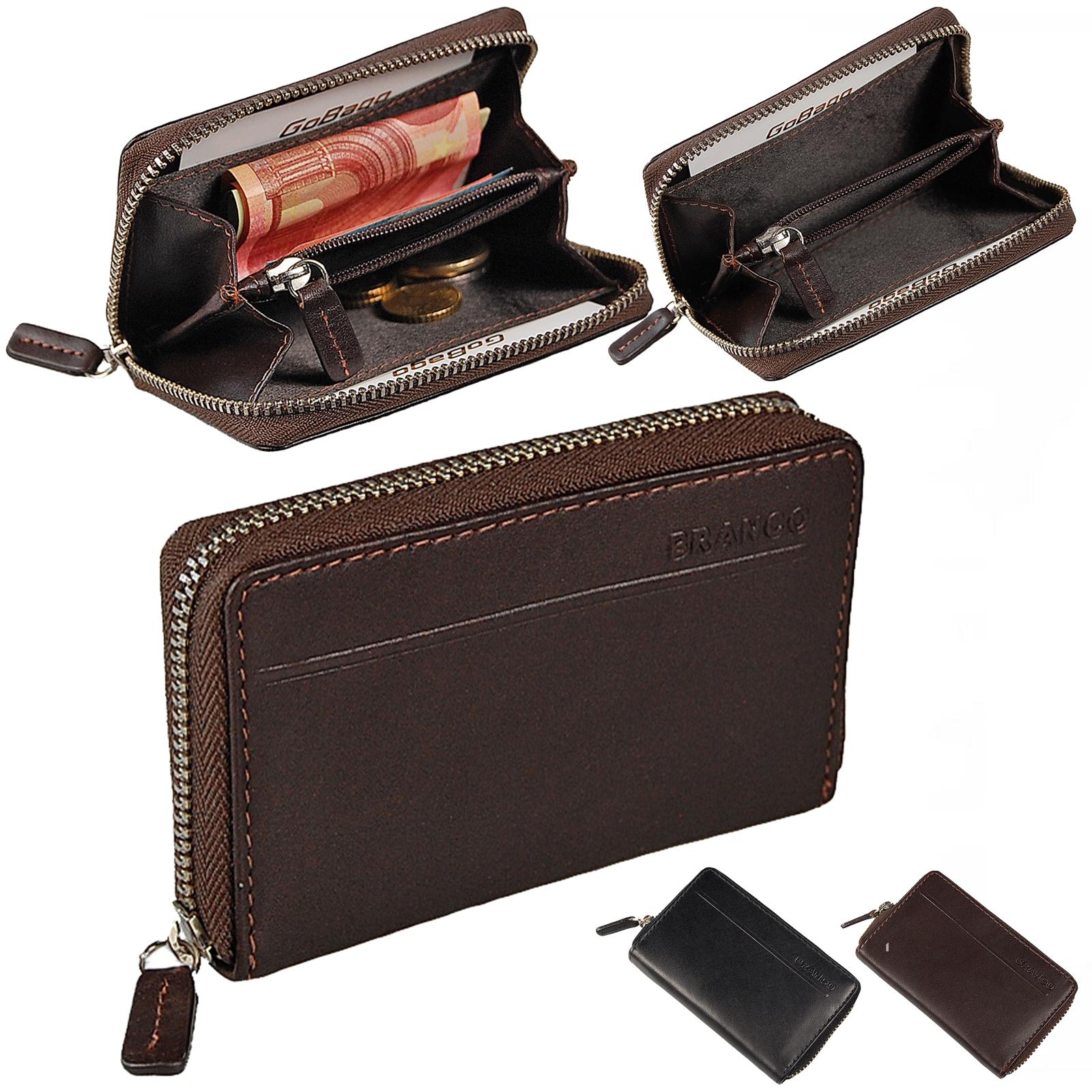 edf47236fe357 Mini Reißverschluss Geldbörse Leder Geldbeutel Münzbörse Börse 97009